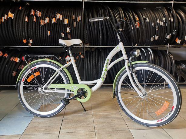 Rower miejski dla dziewczynki 26cali 1 bieg