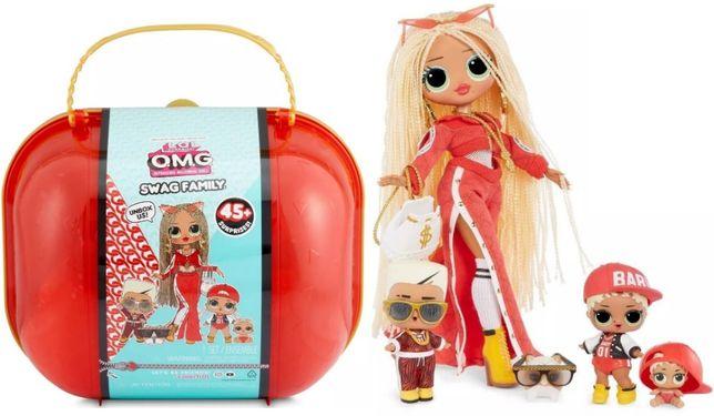 LOL Surprise OMG Swag Family Сваг Семья Подарок Кукла Леди DJ Bon