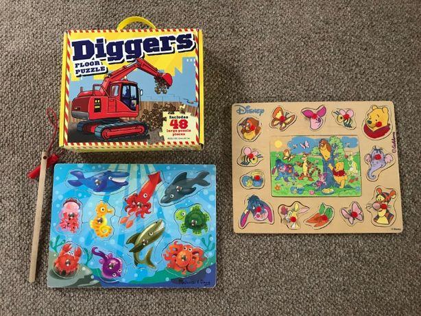 Puzzle i układanki Mellisa&Doug, Eichhorn...