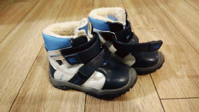 Buty na zimę rozmiar 22 Wojtyłko, jak nowe