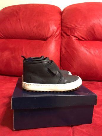 Продам ботинки кожаные на мальчика Ralph Lauren -EUR 24.5 (16.3 см)