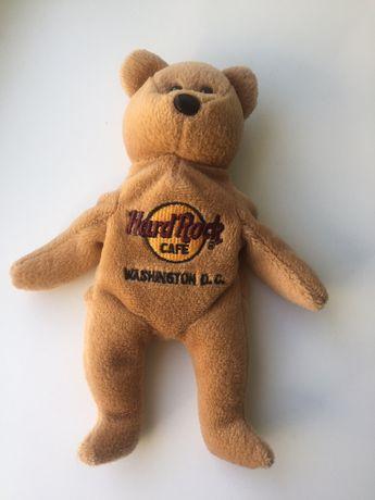 Мишка мягкая игрушка Hard Rock Washington Вашингтон