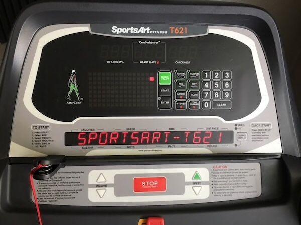 Бігова доріжка Sport Art T621. Беговая дорожка SportArt T621