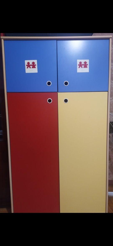 Детский шкаф в детскую комнату Cilek