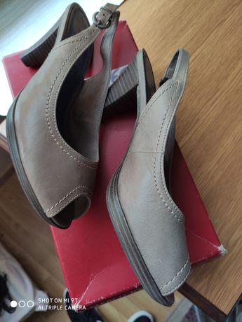 Buty skórzane nowe Marco Tozzi