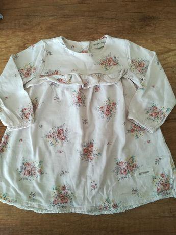 Sukienka ( tunika) newbie róże rozm.68