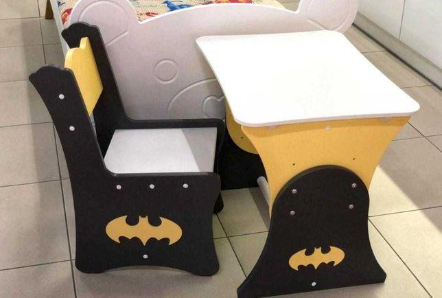 Стіл і стілець для дітей від 2х років зростаючий. МДФ 10мм