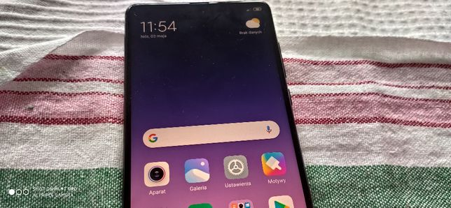 Xiaomi Mi MIX 2 6/64 Stan idealny czarny tył ceramic komplet