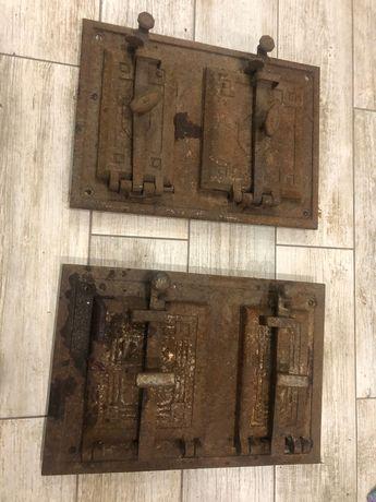 Drzwiczki żeliwne do pieca kaflowego