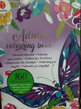 Książka kolorowanka dla dorosłych - nowa