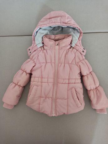Куртка на девочку+шапка в подарок lupilu next zara h&m