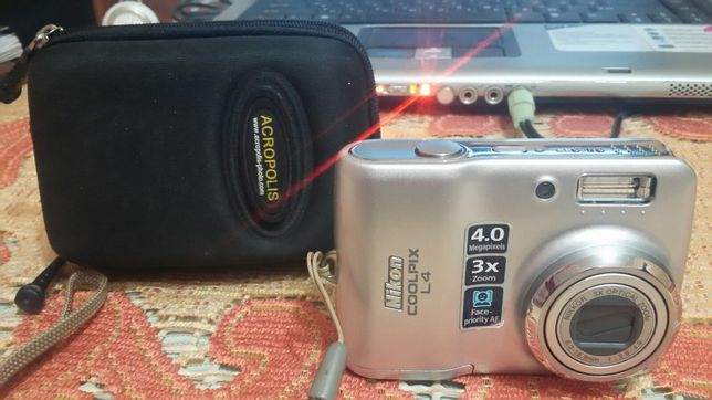 Фотоапарат Nikon coolpix l4