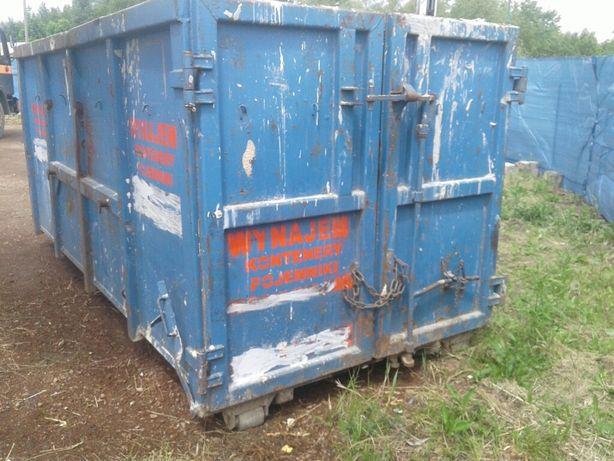 Kontener na gruz śmieci mieszane wynajem wywóz utylizacja odpady