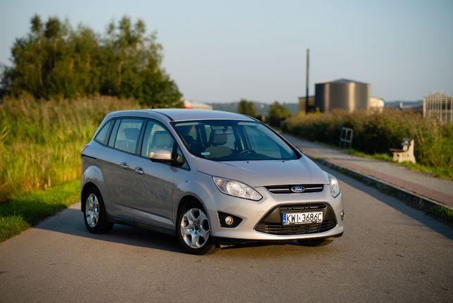 Ford Grand Cmax 2011 1.6 TDCi 7 osób zadbany
