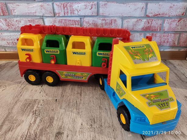 Auto Super Truck Wader/ śmieciarka