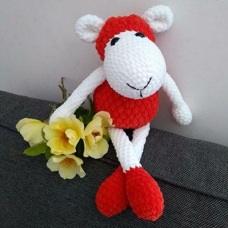 Owieczka na szydełku - rękodzieło!