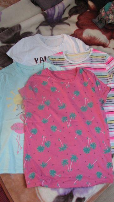 zestaw koszulek george 146/152 8 sztuk