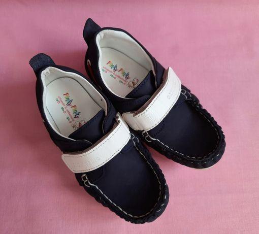 Детские кожаные туфли, мокасины pinky pinky Турция