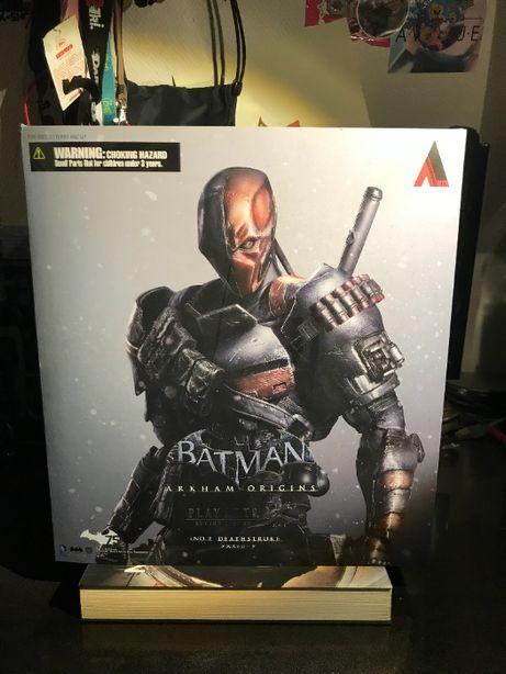 Figurka Deathstroke - Arkham Origins Play Arts Kai - używana oryginał