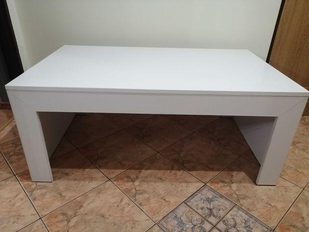 Biały stół kawowy