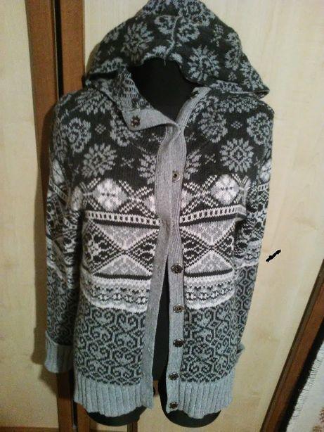 sweter/sweterek, bluza z kapturem- LOGG by H&M 175/104A