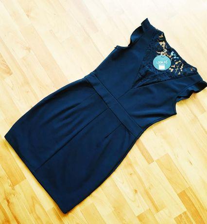 Чёрное платье размер 42