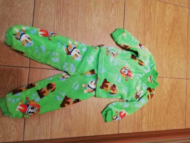 Пижама травка на рост 82-86 см.
