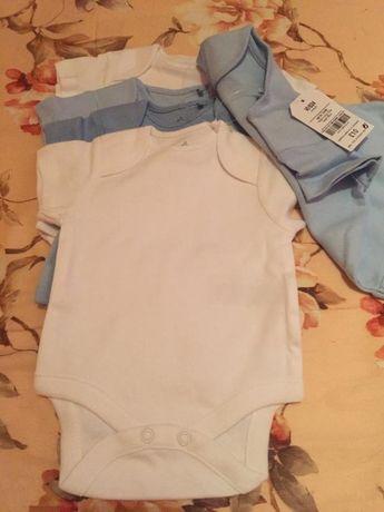 Набор бодиков для малыша (5шт) next