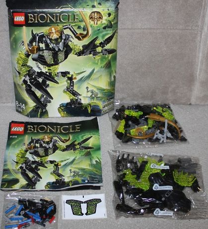 Lego Bionicle 71316 Umarak Niszczyciel kompletny jak nowy, prezent