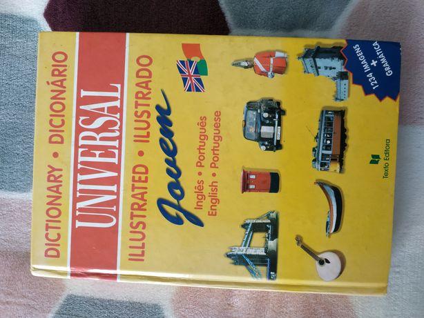 Dicionário Jovem ilustrado inglês-português coleção Universal