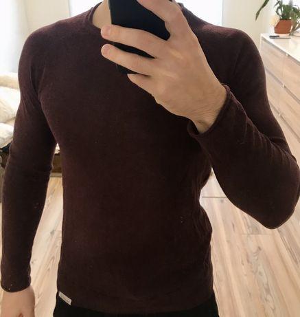 Кофта Pull&Bear бордового цвета