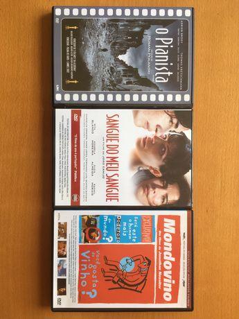 DVD O Pianista, Sangue do meu sangue e Mondovino