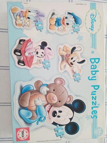Puzzle didático Disney Baby
