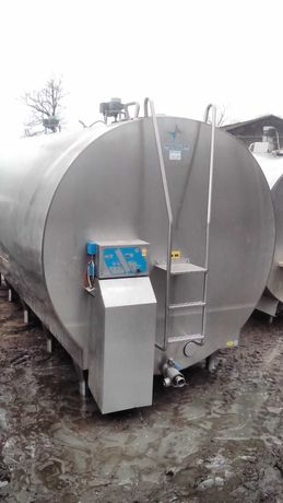Zbiornik schładzalnik do mleka 9000l Mueller
