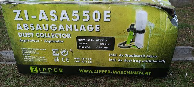 Odciąg do trocin ZIPPER ZI-ASA550E