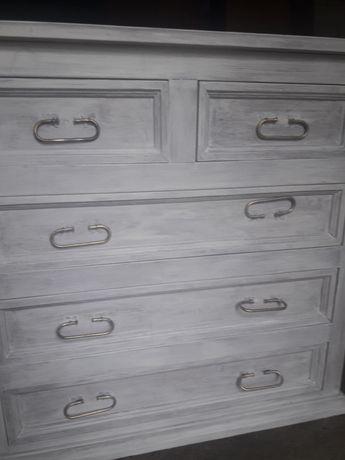 Komoda szafka nocna stylowa drewno