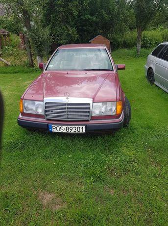 Mercedes w124 COUPE  dwie sztuki w cenie jednej