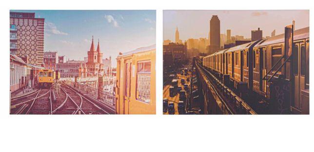 Conjunto de 2 quadros novos