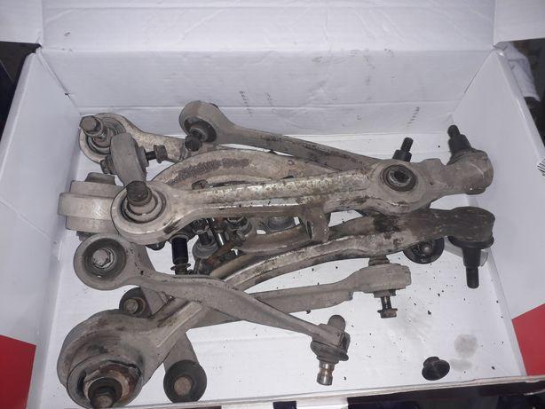 Комплект передних рычагов,и рулевых наконечников пасат б5,ауди а4,а6