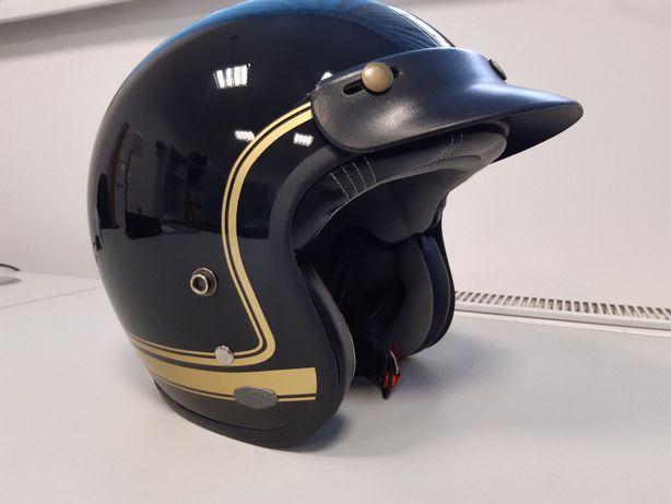 Kask Motocyklowy LAZER CONGA Cosmo Black - Gold rozm. XL
