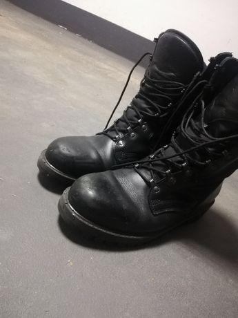 buty wojskowe czarne trzewiki