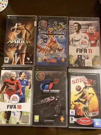 Vendo jogos para PSP