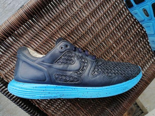 кроссовки Nike Lunar Flow Woven Leather TZ Dark Obsidian оригинал