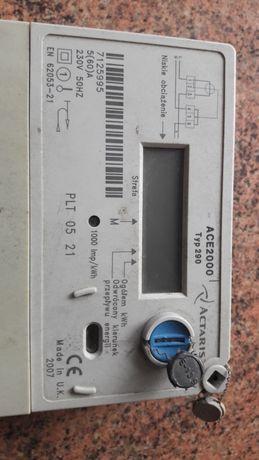 Licznik prądu cyfrowy dwutaryfowy actaris 2000