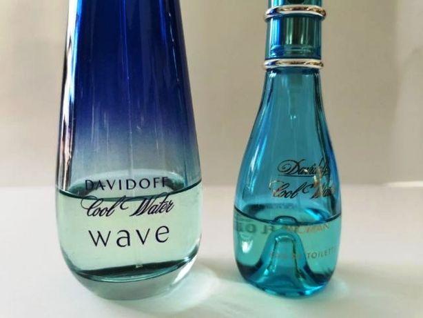 DAVIDOFF Cool Water WAVE + Cool Water WOMAN