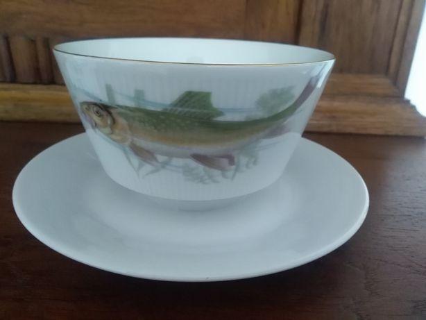 Winterling Bavaria porcelana ryby sosjerka
