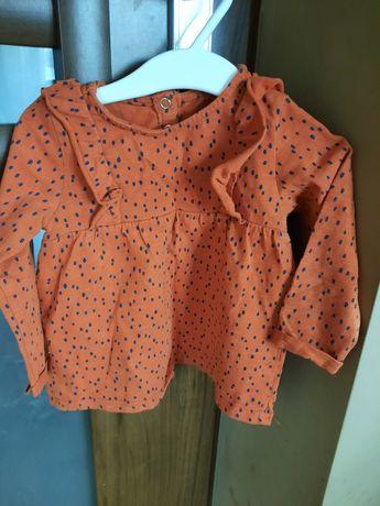 Bluzeczka tunika reserved