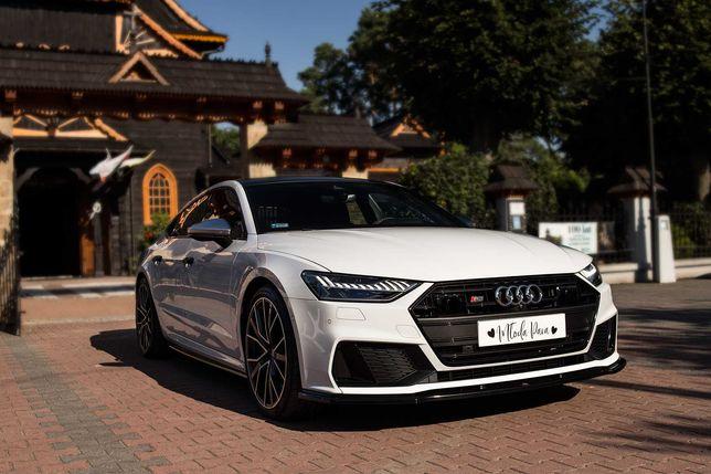 Auto do ślubu Audi S7, samochód na imprezy okolicznościowe