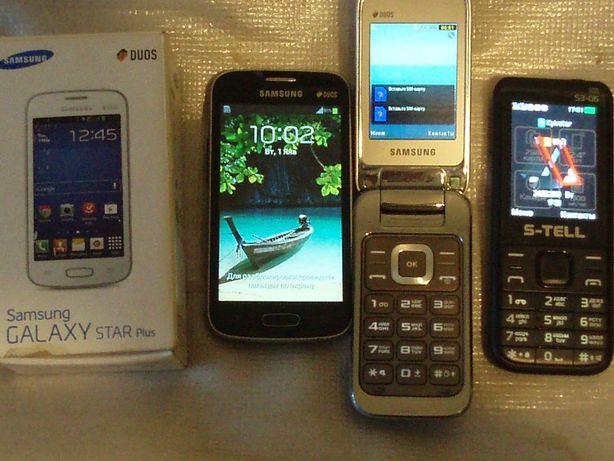 "Samsung3592,2252;Bravis Nova 4гб,4""на з/ч;Hom Tom HT16;S-tell S3-06"
