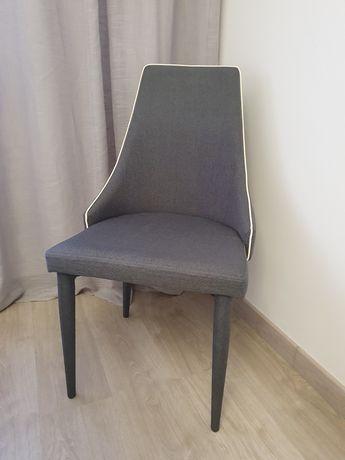 Cadeiras Conforama Cinza (conjunto 6)
